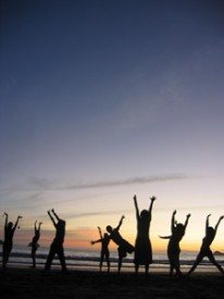 costa rica beach 206x275 Asheville Community Yoga Costa Rica Experience!