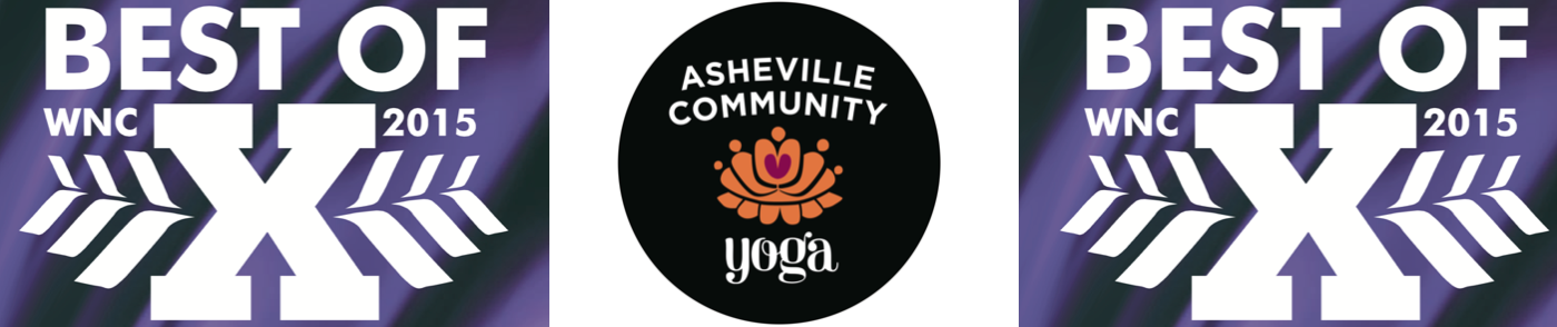 Asheville Community Yoga Voted Best of WNC Yoga Studio For Fifth Year in a Row!