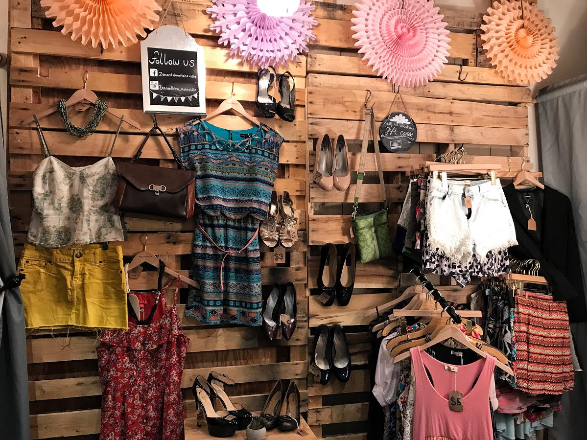 Asheville clothing stores