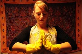 cleaning yogi