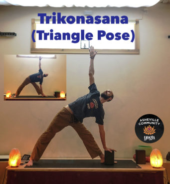 December 2018: Triangle Pose