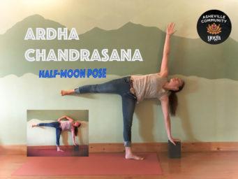 January 2018: Half Moon (Ardha Chandrasana)