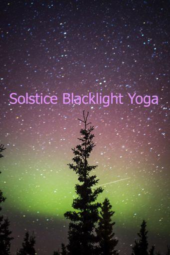 Black Light Yoga with Wendy