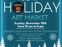 Fourth Annual Holiday Art Market