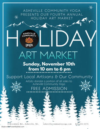 Fourth Annual Holiday Art Market!