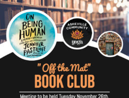 "Join our ""Off the Mat"" Book Club!"