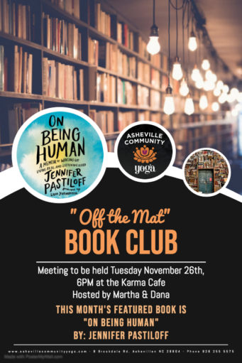 """Join our """"Off the Mat"""" Book Club!"""